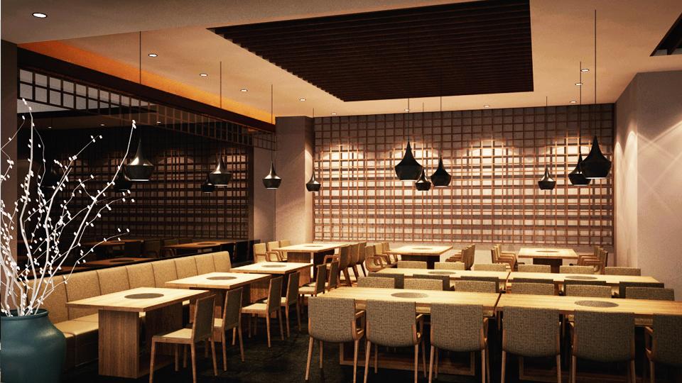 Báo giá thiết kế thi công nội thất nhà hàng ăn uống tiết kiệm chi phí