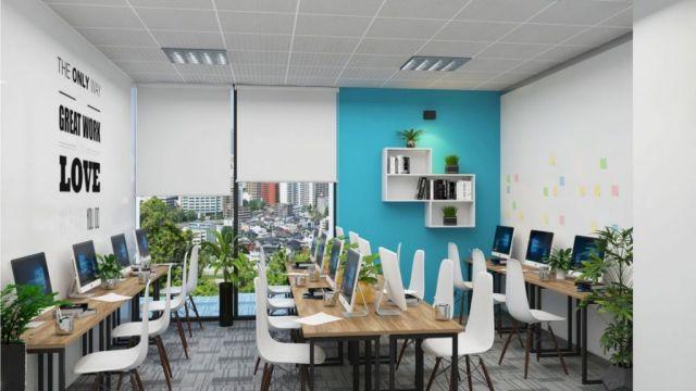 Dịch vụ thi công nội thất văn phòng làm việc sang trọng hiệu quả