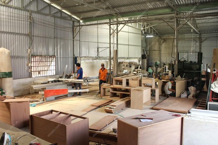 Tìm hiểu xưởng sản xuất nội thất cao cấp không gian đẹp